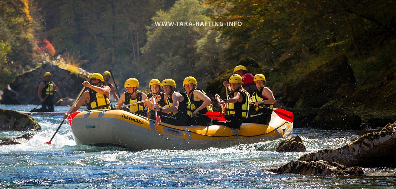Rafting Rijekom Tarom Kamp I Rafting Kljajevića Luka